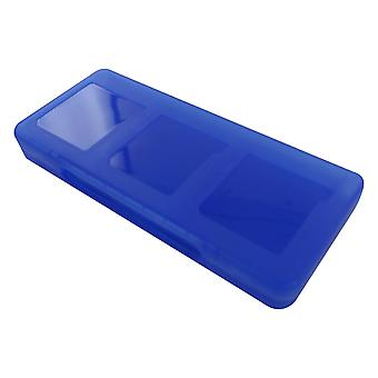 Game case for nintendo 3ds 2ds ds protect 6 in 1 storage card holder box - royal blue | zedlabz
