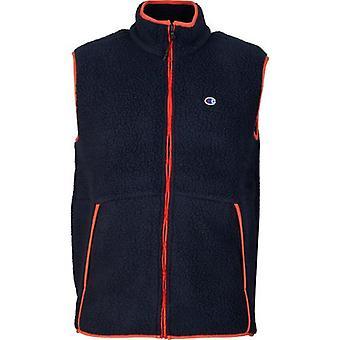 Champion Reverse Weave Polotech Full Zip Vest Fleece