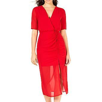 Leyden | Ruched Midi Dress