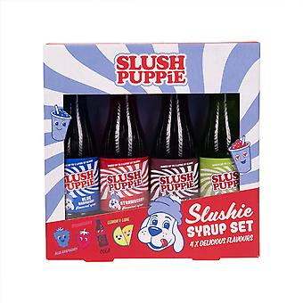 Slush Puppie Sirap Urval Pack x 4