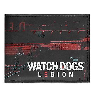 Watch Dogs Legion Glitch Logo Print Bi-fold Wallet Male (MW006746WTD)