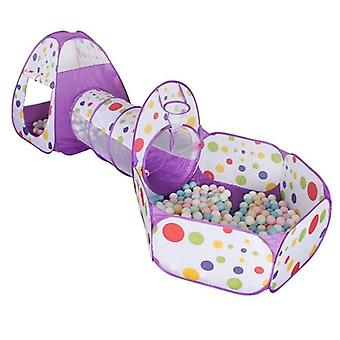 3 In 1 Ball Pit Baby Ballon Playpen Portable Kids - Tent Ball Pool With