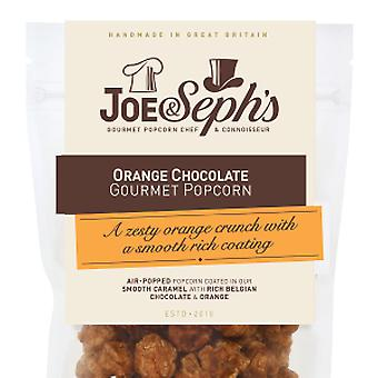 Oranje Chocolade Popcorn