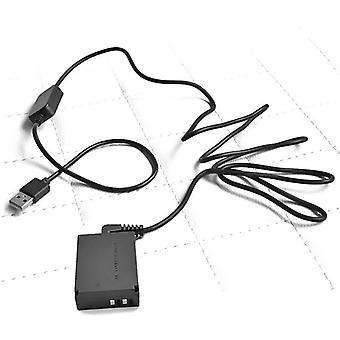 usb Cable Adapter + Lp-e12 Dr-e12 Dc Coupler For Canon Eos M M2 M10 M50 M100 Cameras (usb Normal Cable)