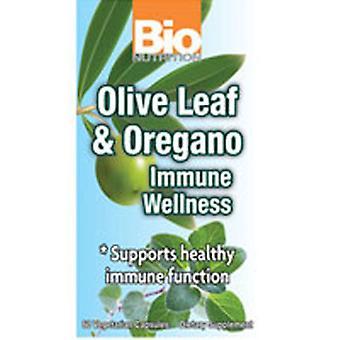 Bio Nutrition Inc Olive Leaf and Oregano Immune Wellness, 60 VEG CAPS