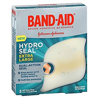 Band-Aid Hydro Seal Hydrocolloid Gel Bandages Extra Large, 3 Each