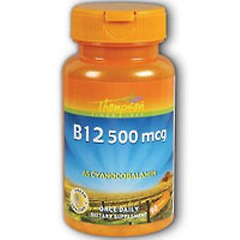 Thompson Vitamine B-12, 500 MCG, 90 onglets
