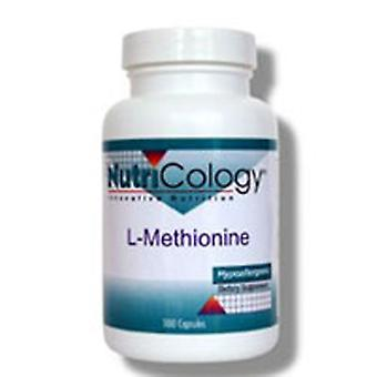 Nutricology/ Allergy Research Group L-Methionine, 500 mg, 100 Caps