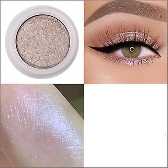 Kovové trblietky očné tiene palety s mäkkým leskom - očný make-up kozmetické