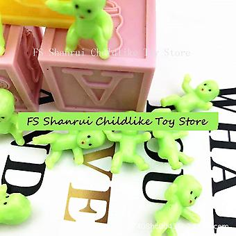 Mini Plastic Colourful Baby Shower And Ice Cube Game Bathing Toys