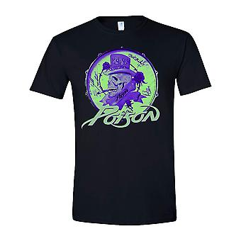 Poison Smoking Skull T-Shirt