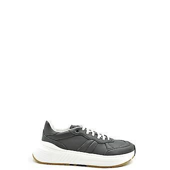 Bottega Veneta Ezbc439011 Men's Grey Leather Sneakers