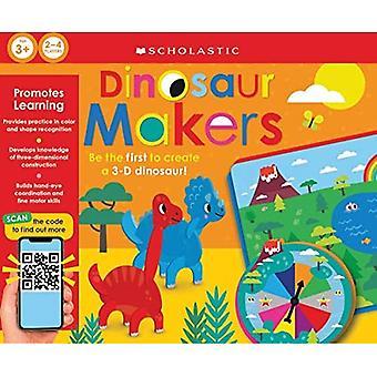 Dinosaur Makers: Scholastische Early Learners (Learning Game) (Scholastische Vroege Leerlingen)