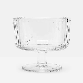 Joules Bee Glass Trifle Bowl
