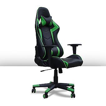 Ocazi Gamestoel / Bureaustoel – Ergonomisch – Gaming Chair – Gaming Stoel – Volwassenen/Kind – Met Nekkussen – Groen – Las Vegas