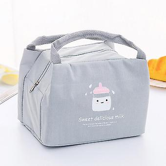 Baby Food Insulation Waterproof Thermal Bags Convenient Leisure Cute Cartoon