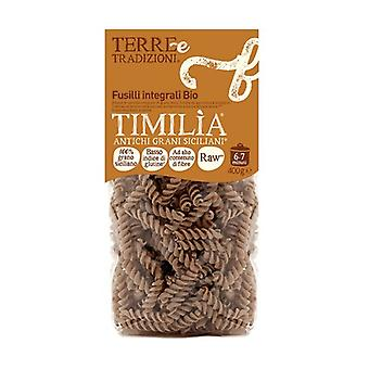 Wholemeal timilìa fusilli None