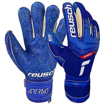Guantes Reusch Attrakt Fusion Finger Support Guardian Jr Goalkeeper