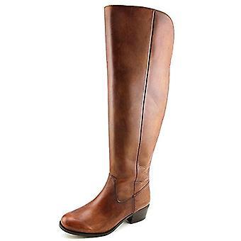 Des Concepts International INC Womens Beverley cuir Toe amande au-dessus du genou Fashi...