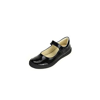 PRIMIGI Mary Jane Shoe C/w Bumper Toe Black Patent