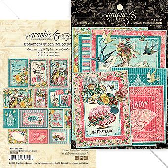Graphique 45 Ephemera Queen Ephemera & Cartes de journalisation