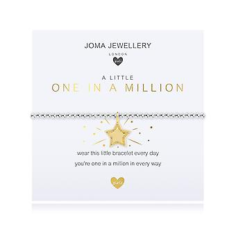 Joma مجوهرات الأطفال واحد قليلا في مليون الفضة والذهب 15.5cm تمتد سوار C500