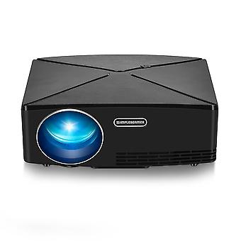 Projektor LCD AUN C80 2200 Lumenów 1280x720 Rozdzielczość HD VGA USB Office LED Projektor KINO DOMOWE