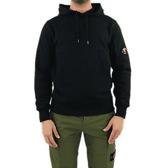 C.P.Company Sweatshirts - Sweat Hooded Black 10CMSS047005086W999 Top