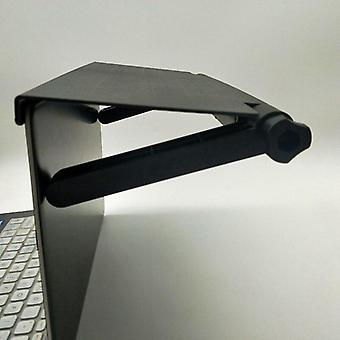 Näyttöhylly Tietokoneen näyttö Riser Työpöytäteline (musta)