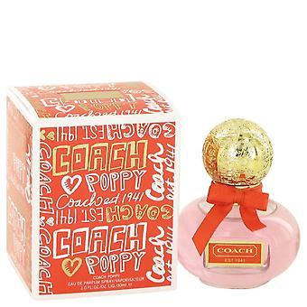 Coach Poppy Eau De Parfum Spray By Coach 1 oz Eau De Parfum Spray