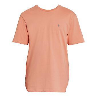 Volcom Stone Blanks T-Shirt - Clay Orange
