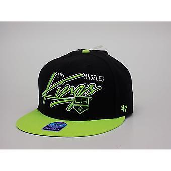 '47 Nhl Los Angeles Kings Neon Snapback Cap
