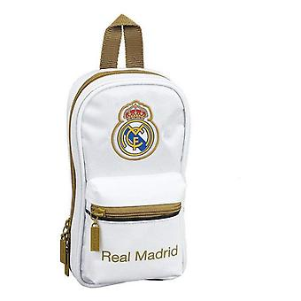 Ryggsäck Pennfodral Real Madrid C.F. 19/20 Vit Svart