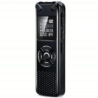 HanFei Digitales Diktiergert, 8GB 1536kbps HD-Audio Aufnahmegert mit USB