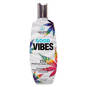 Hempz Good Vibes 15x Positively Dark Bronzer Tanning Lotion - 250ml