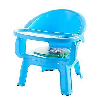Kinder's Essstuhl mit Platte Baby Esstisch / Kunststoff Hocker
