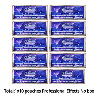 10 Packs Of 3d Crest Whitening Teeth Patch