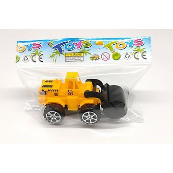 De Kraan van het Speelgoed van kinderen, De Graafmachine van het speelgoed, De Bulldozer van het huis speelgoed, De Reeks van het Voertuig van de techniek,