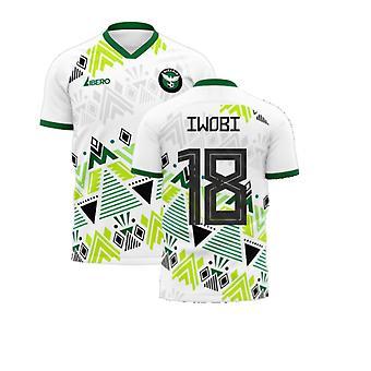Nigeria 2020-2021 Away Concept Jalkapallosarja (Libero) (IWOBI 18)