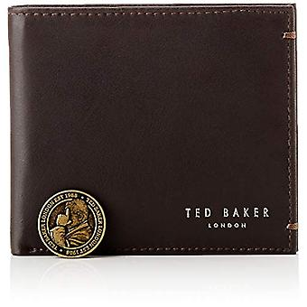 Ted Baker Travel Accessories- Bi-Fold Wallet, One Size, DK-BROWN