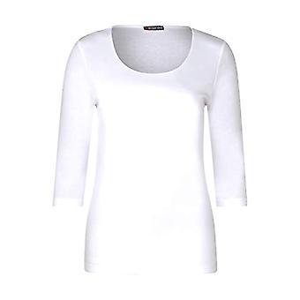 Camiseta De La Calle Uno Pania, Blanca, 40 Mujer
