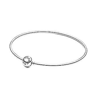 Pandora Me - Sterling Hard Bracelet and Sterling Silver, color: silver, code 598406C00-16