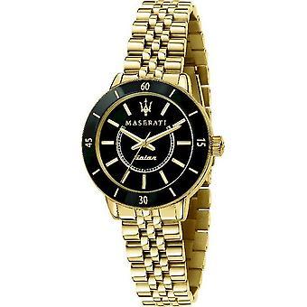Maserati Мужские часы Successo Солнечный 32mm Черный R8853145503