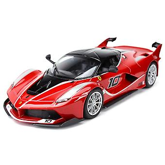 Ferrari FXX K Urheiluauto Static Die Cast Ajoneuvot Keräilymalli auto lelut (punainen)