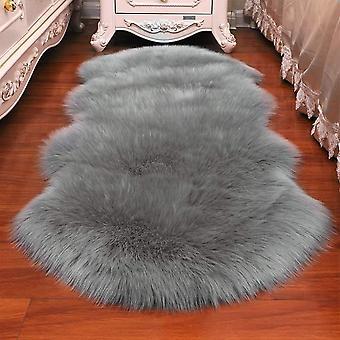 Lammfell Teppich Schaffell Lammfellimitat Schaffellimitat Wollteppich Faux Teppich Kunstfell
