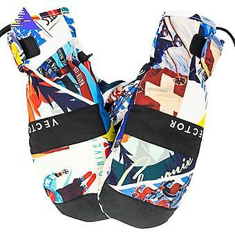 Men Women Waterproof Snow Winter Sports Ski Gloves