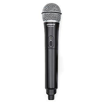 SAMSON Go Mic Mobile - Sistema de micrófono inalámbrico profesional para teléfonos inteligentes (solo transmisor) - Negro