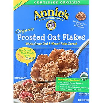 Annie's Homegrown Cereal Frstd Oat Flakes, Case of 10 X 10.8 Oz