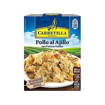 Kana valkosipuli carretillan kanssa
