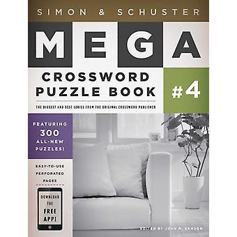 Simon amp Schuster Mega Korsord Bok 4 av John M Samson